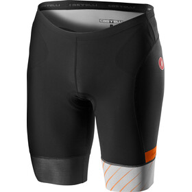 Castelli Free Tri Shorts Heren, silver gray/brilliant orange